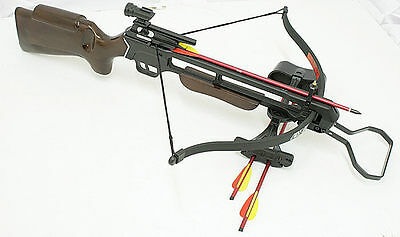 150 lbs Crossbow Laser +Scope + 8 Arrows cross bow Comes Assembled