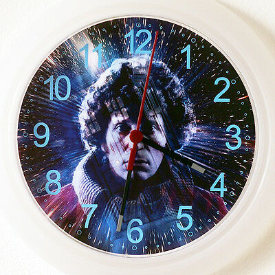 DR WHO TED BAKER Wall Clock - NEW 24cm TV series dvd Christmas Gift