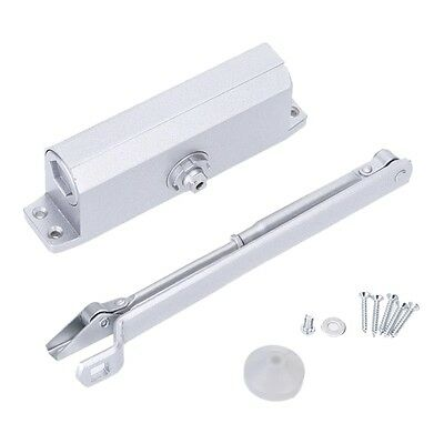 07CF Aluminum Alloy 35kg Automatic Hydraulic Door Closer with Parallel Bracket E