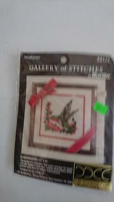 Gallery of Stitches by Brucilla Needlepoint Kit - Hummingbird  Kit Number 33172