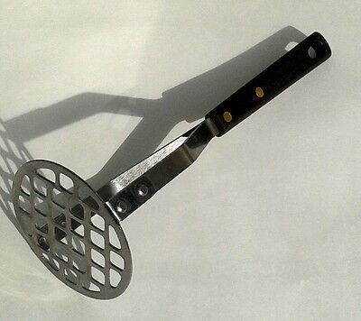 Vintage POTATO / VEGETABLE Masher Stainless Steel Made in U.S.A.