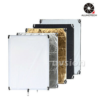 "35""X45"" 5 in1 Collapsible Multi Disc Light Reflector Diffuser Photography Studio"