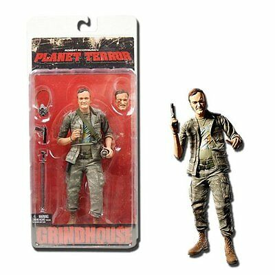 GRINDHOUSE Planet Terror - Army Soldier - Quentin Tarantino Zombie Figur NEU+OVP