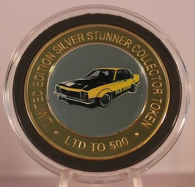 Torana Slr 5000 Silver Stunner Coin - Limited Edition 500 Released