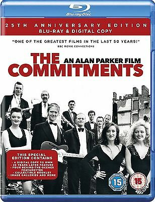 The Commitments An Alan Parker Film 25th Anniversary Blu Ray Region 2 New Sealed