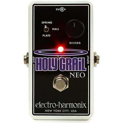 Electro Harmonix Holy Grail Neo Reverb Guitar Effects Pedal