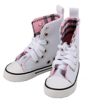 [wamami] 1/3 White High Aboral Shoes/Sneakers Woman For SD DOD AOD BJD Dollfie