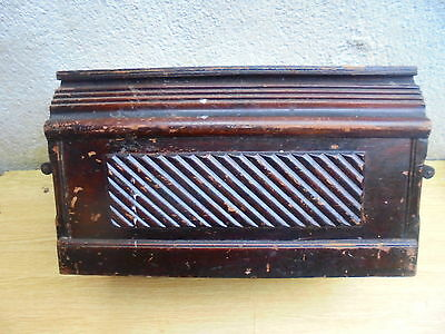 VINTAGE SINGER SEWING MACHINE wooden cover case
