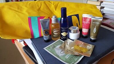 L'OCCITANE 40 YEARS OF LOVE CANVAS TOTE BAG  AND Spring Essentials Collection