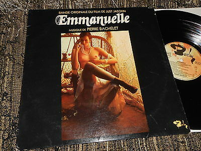 EMMANUELLE BSO OST Pierre Bachelet LP 1974 Barclay SEXY NUDE COVER