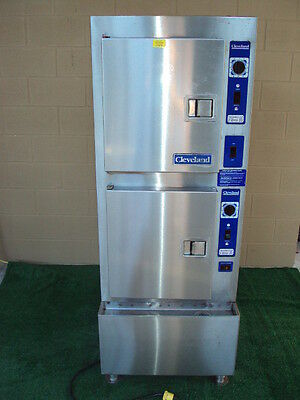 "Cleveland 24Cga10 Convection Steamer  Gas With H20 Filter System ""nice"""