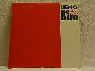 UB40 ‎– Present arms in Dub, LP washed