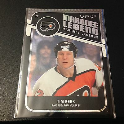 ** Tim Kerr ** O-Pee-Chee Rainbow Black 2011-12 #514