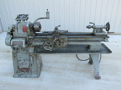 """Good South Bend 13"""" X 36"""" Metal Lathe w/Taper Attachment & Collets 3 Phase"""