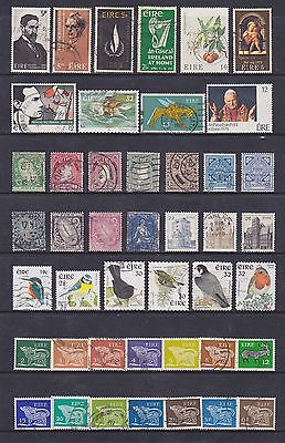 Eire/ireland (2) - Another Good Lot Of 44 Used Stamps - See Scan.