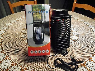 Indoor Outdoor Insect Bug Killer Electric Light w/Trap Lamp Low Consumption