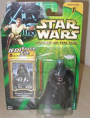New 2000 Hasbro Star Wars Power Of The Jedi Darth Vader Action Figure