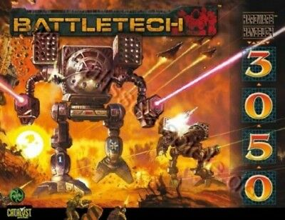 BattleTech Hardware Handbuch 3050 (Deutsch) US44002 Battlemech Catalyst Game Lab