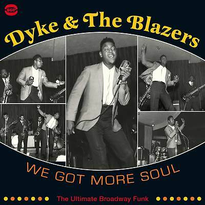 Dyke And The Blazers - We Got More Soul - Bgp2 180