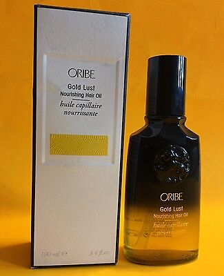 ORIBE Hair Care Gold Lust Nourishing Hair Oil 3.4 fl oz / 100ml NEW