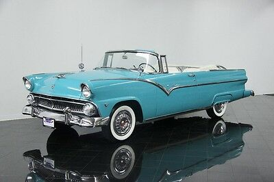 1955 Ford Fairlane Sunliner 1955 Ford Fairlane Sunliner *$471 PER MONTH* Convertible Turquoise V8
