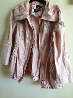 NEW LOOK Dusty Pink Lightweight Coat Age 10-11 years - New