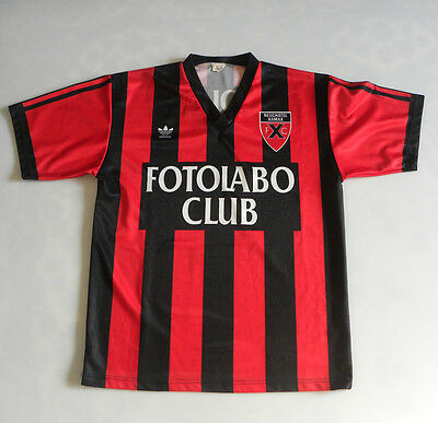 Neuchâtel Xamax 1990 / 1991 Home  Kit Football Shirt Spieltrikot Jersey Camiseta