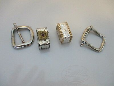 belt buckle tips silver  FREE SHIPPING