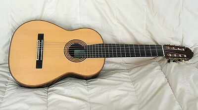 Eight-string classical guitar by Earl S. Marsh