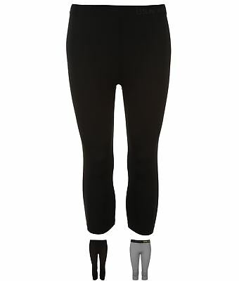 FASHION USA Pro Capri Base Layer Training Tights Womens 34530690