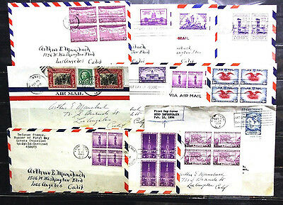 sc# C23 & others on (12) First Day covers. 1929-1940.