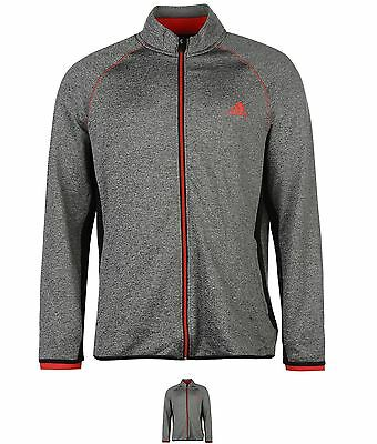 DI MODA adidas Climaheat Full Zip Golf Jacket Mens Black