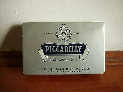 Vintage Piccadilly Number One Cigarette Tin