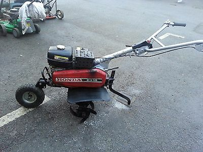 honda f310 rotovator 6.5hp petrol engine 3 DAY no reserve auction
