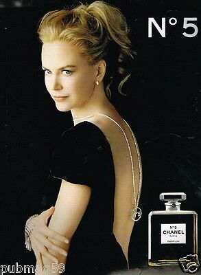 Publicité advertising 2007 Parfum Chanel N°5