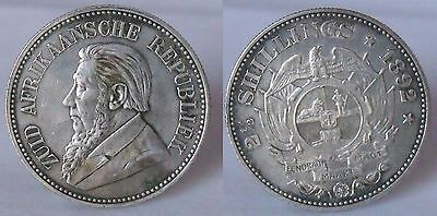(B 37) South Africa 2 1/2 Shillings 1892 Nice