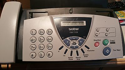 Brother T104 Fax