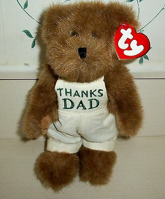 "Ty's Attic Treasure ""Dad Bear"" with Tags"