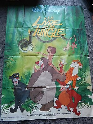 Original French Grande Movie Poster - Disney - Jungle Book