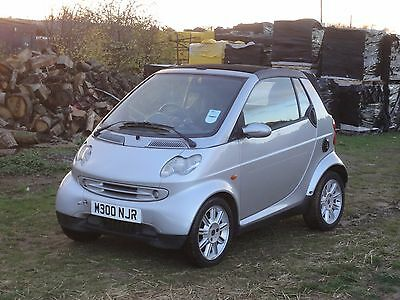 2002 Smart Passion Softouch Auto Covertible Engine Fault Spare Repair
