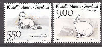 Greenland   Sc# 270 & 272   MNH     Cat Val $7