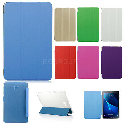 """Tri-Folding Leather Cover Case For Samsung Galaxy Tab A/E Tab S/S2 8"""" 9.7"""" 10.1"""""""