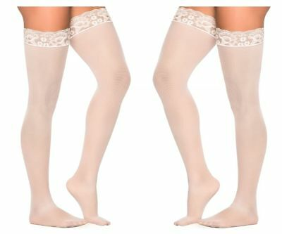 Lingerie: Mapale 1094 Mesh Thigh Highs
