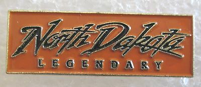State of North Dakota Travel Souvenir Collector Pin - Legendary