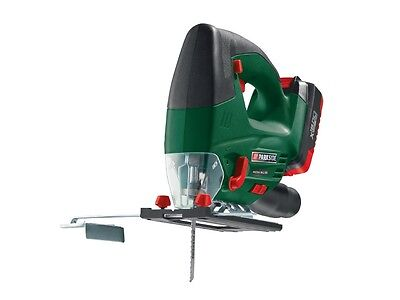 PARKSIDE CORDLESS JIGSAW 18V Li-Ion - 60 minute fast charge battery