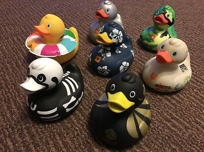 Collection Rare Bundle Lot - Deluxe Ducks, Design Room NYC -Various Rubber Ducks