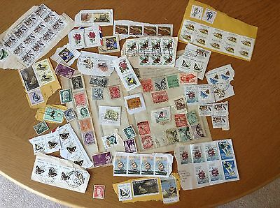 Collection of Vintage Stamps - Australia