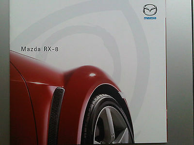 Mazda RX-8 RX8 RX/8 Brochure 2003 with clever door fold out