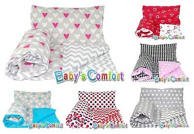 Baby's Comfort 4PCS baby bedding set DUVET & PILLOW + DUVET COVER & PILLOWCASE