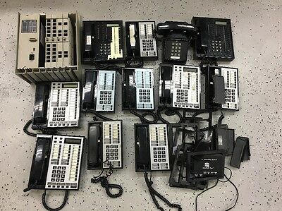 AT&T Lucent Avaya Merlin 820D2 Phone System With (11) Bis 10 34